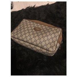 Gucci-Pochettes-Marron