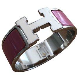 Hermès-clic clac H PM-Pink
