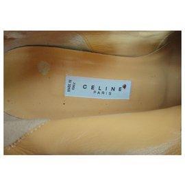 Céline-Ankle Boots-White