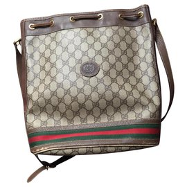 Gucci-Gucci bucket bag-Brown