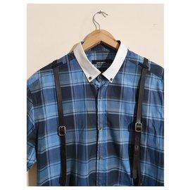 Autre Marque-chemises-Bleu