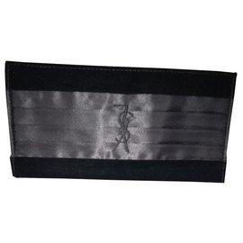 Yves Saint Laurent-wallet-Black