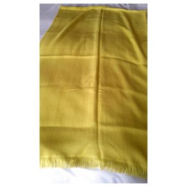 Hermès-Hermès shawl-Yellow