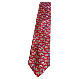 Escada-Ties-Red