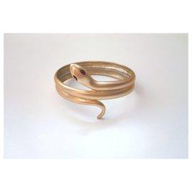 Kenneth Jay Lane-Bracelets-Golden