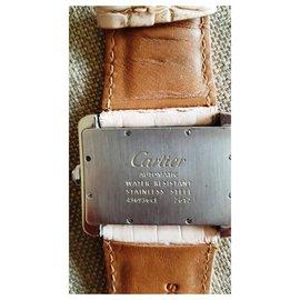 """Cartier-Modèle """"Divan""""-Argenté"""