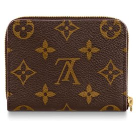 Louis Vuitton-Louis Vuitton Zippy Wallet-Marron