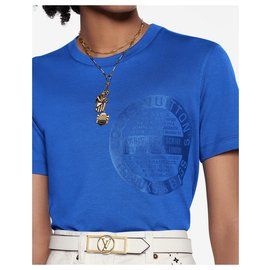 Louis Vuitton-louis vuitton t-shirt-Bleu