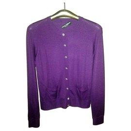 Dolce & Gabbana-Knitwear-Purple