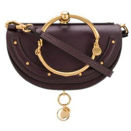 Chloé-Chloe Red Nile Minaudiere Crossbody-Red,Other