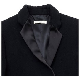Céline-SMOKING BLACK FR38 Phoebe Philo-Black