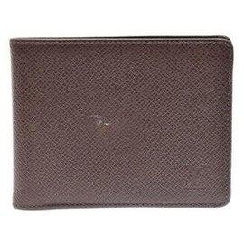 Louis Vuitton-Louis Vuitton Bifold Bill Wallet-Brown