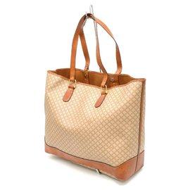 Céline-Céline Vintage Shoulder Bag-Beige