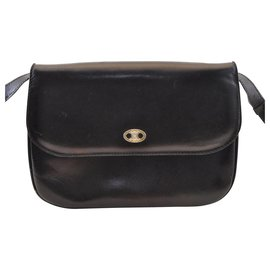 Céline-Céline Vintage Shoulder Bag-Black