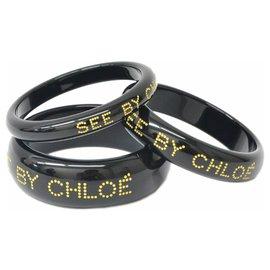 Chloé-Chloé See 3 sets bracelets-Golden