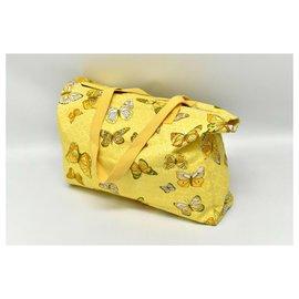 Hermès-Hermès Butterfly bag-Yellow
