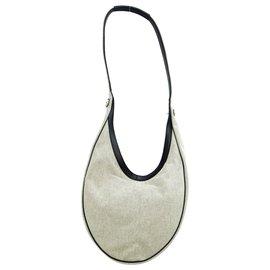 Hermès-Hermès Vintage Shoulder Bag-Grey