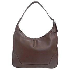 Hermès-Hermès Trim-Brown