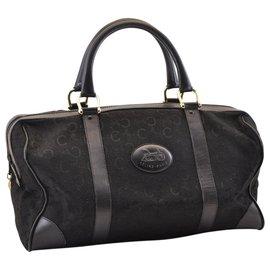 Céline-Celine Boston Bag-Black