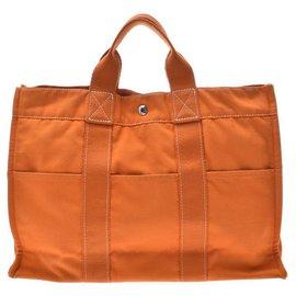 Hermès-Hermès Deauville MM-Orange