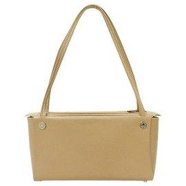 Hermès-Hermès Vintage Shoulder Bag-Beige