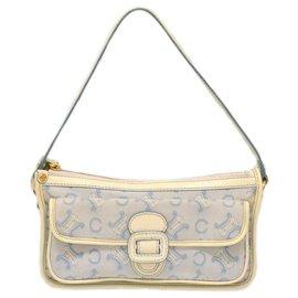 Céline-Céline Macadam Hand Bag-Blue