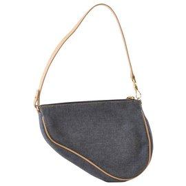 Dior-Dior Mini Saddle-Blue