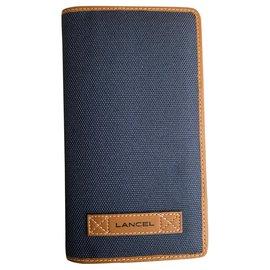 Lancel-Lancel Agenda Holder-Blue