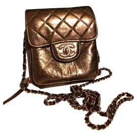 Chanel-Mini Chanel-Silvery