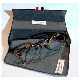 Thom Browne-glasses Tom Browne new-york-Caramel