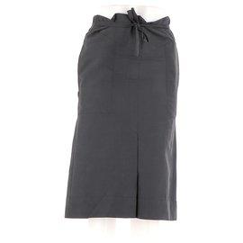 Isabel Marant Etoile-Jupe-Noir