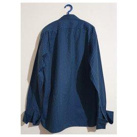 Ted Baker-chemises-Bleu,Multicolore,Vert