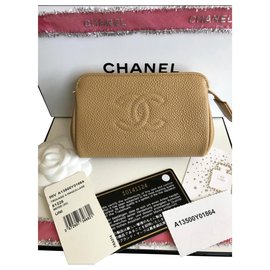 Chanel-Purses, wallets, cases-Beige