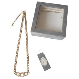 Christian Dior-Necklaces-Golden