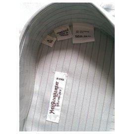 Yves Saint Laurent-chemises-Autre,Vert clair