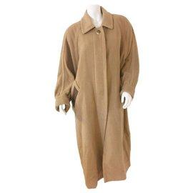 Hermès-Coats, Outerwear-Light brown,Dark brown