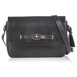 Mulberry-Mulberry Black Bayswater Crossbody-Black