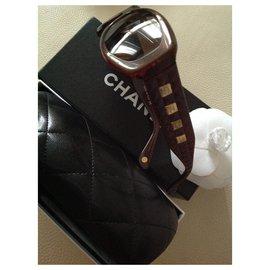 Chanel-vintage 1980'-Brown