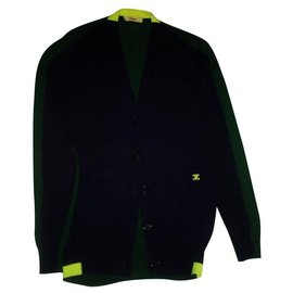 Céline-Knitwear-Navy blue,Dark green