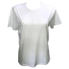 Gucci-tshirt gucci unisexe-Blanc