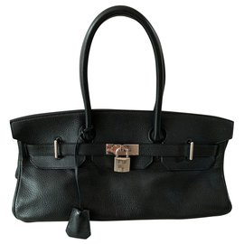 Hermès-Birkin Shoulder-Black