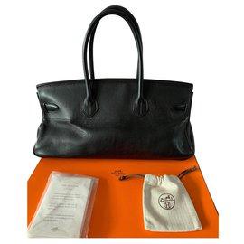Hermès-Birkin Shoulder-Noir