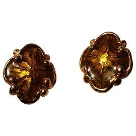 Christian Lacroix-Bronze-gold Christian Lacroix earrings-Bronze