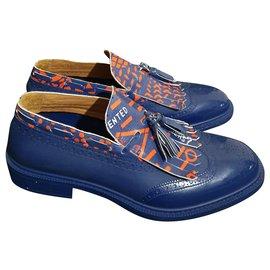 Vivienne Westwood-Loafers Slip ons-Blue,Multiple colors