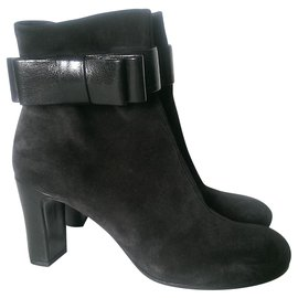 Chie Mihara-Ankle Boots-Black