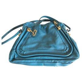 Chloé-Handbags-Blue