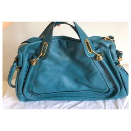 Chloé-Handbags-Blue