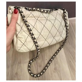 Chanel-Chanel Timeless Reissue bag-Eggshell