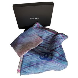 Chanel-chanel foulard-Multiple colors