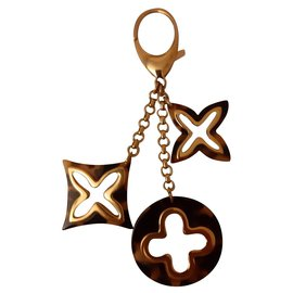 Louis Vuitton-Bag charms-Brown,Golden